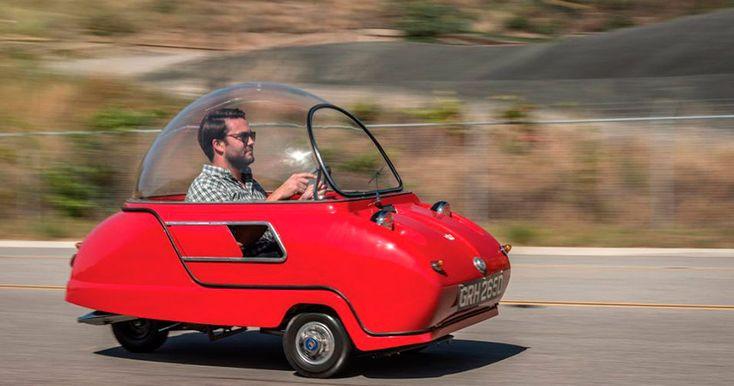 Самый маленький в миреавтомобильPeel Tridentбудет выставлен на аукцион за100тысяч долларов.