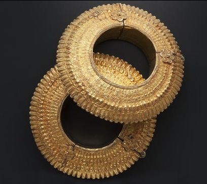 Bracelets | Amrapali Designs.  From their traditional series; taking inspiration from old Indian jewellery designs.