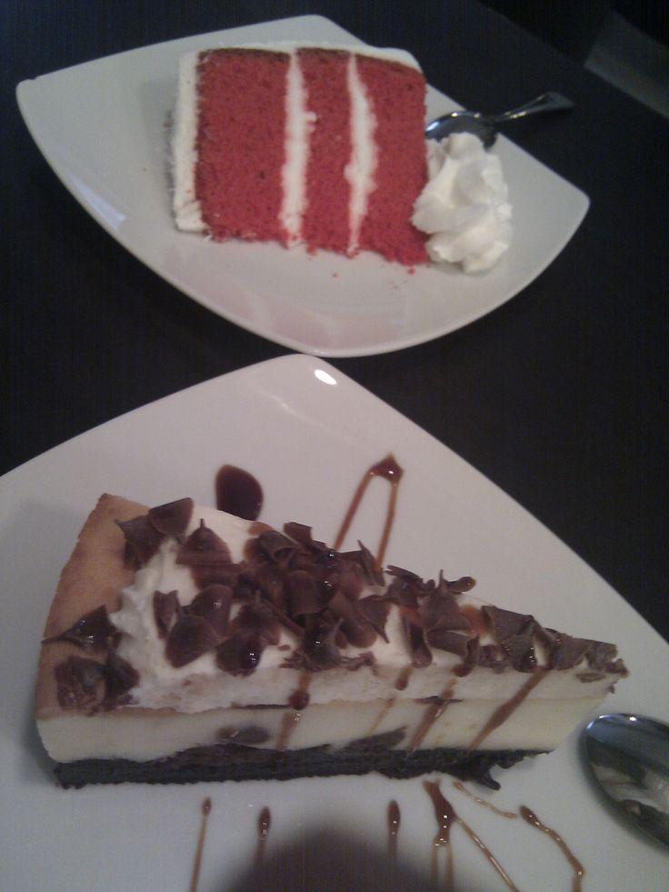 ¡Las mejores tartas Red Velvet y Brownie Cheese Cake de Madrid!