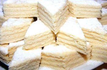 Retetă de prăjitură albă ca zăpada