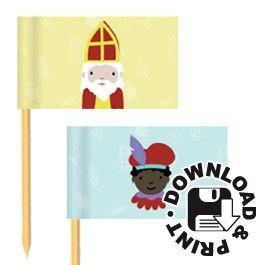 Sinterklaas - vlaggetjes