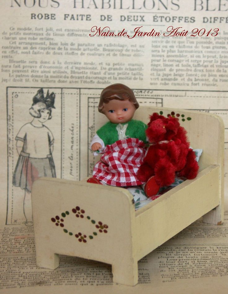 142 best images about ari german rubber dollies on pinterest vinyls red riding hood and sons - Petit nain de jardin toulouse ...