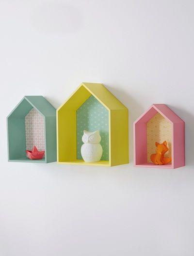 Set of 3 wall shelves Vertbaudet £39