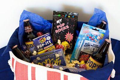 Pop Gift Basket w/printables