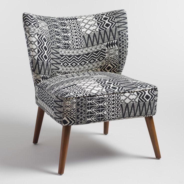 Our Plush Accent Chair Brings A Boho Vibe To Any Space