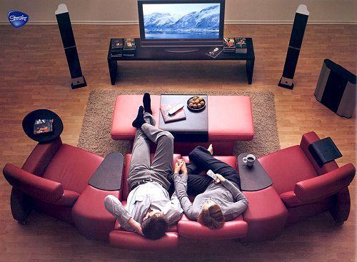 die besten 17 ideen zu heimkino auf pinterest filmzimmer kino keller und medienr ume. Black Bedroom Furniture Sets. Home Design Ideas