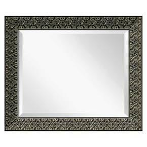 Intaglio Antique Black Wall Mirror - Medium' 24 x 20-inch : Target