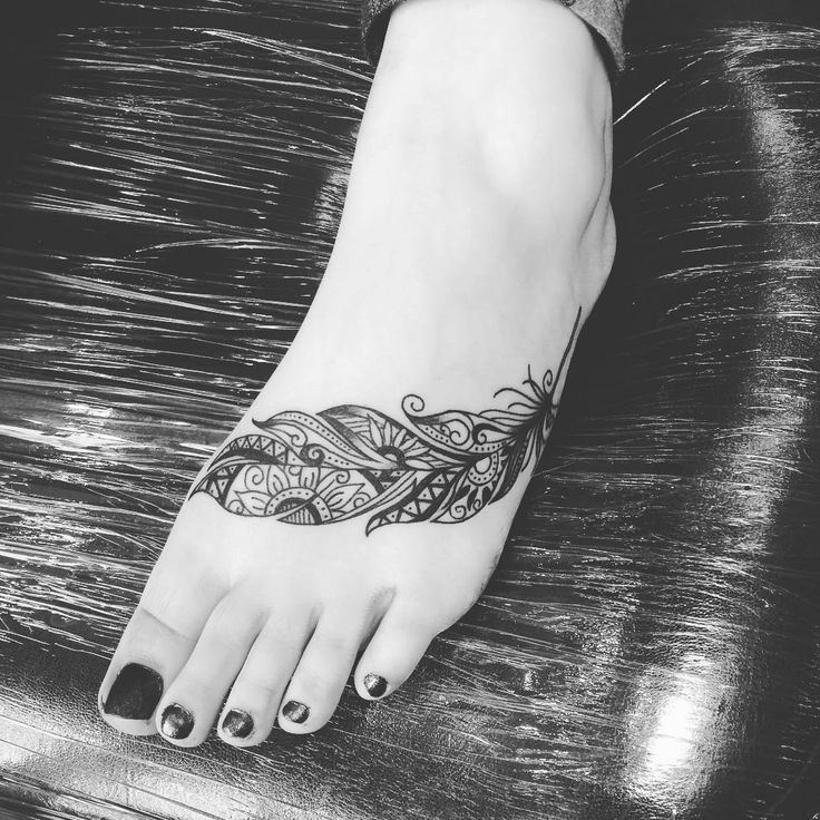 Feet Tattoos Tattoo S Idea Mandala Tattoo S Beauty