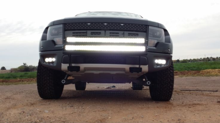 ford raptor with light bar ford raptor lighting truck. Black Bedroom Furniture Sets. Home Design Ideas