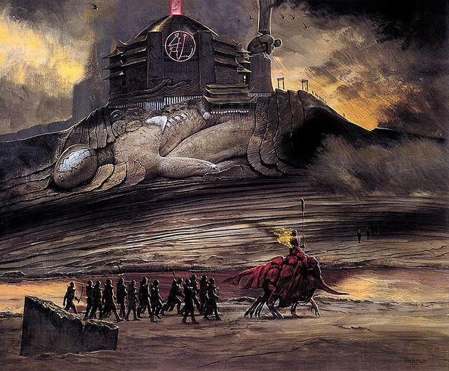 Ação Crítica: Ilustrações do inferno de Wayne Barlowe