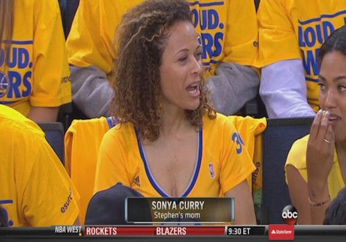 stephen curry  mother