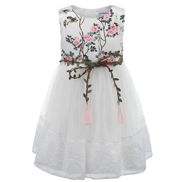 3-12Y Mädchen Spitzenkleid Prinzessin Kleid für Mädchen Kleidung Baby Mädchen Kleid Sommer Kinder Kleider …   – Bademäntel Kinder