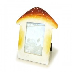Photo Frames : Photo Frame by Mango Wood, painting for 4X6 inc WPE-PF-38227-YL-PTD644