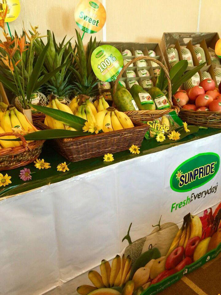 Fresh fruit everyday!