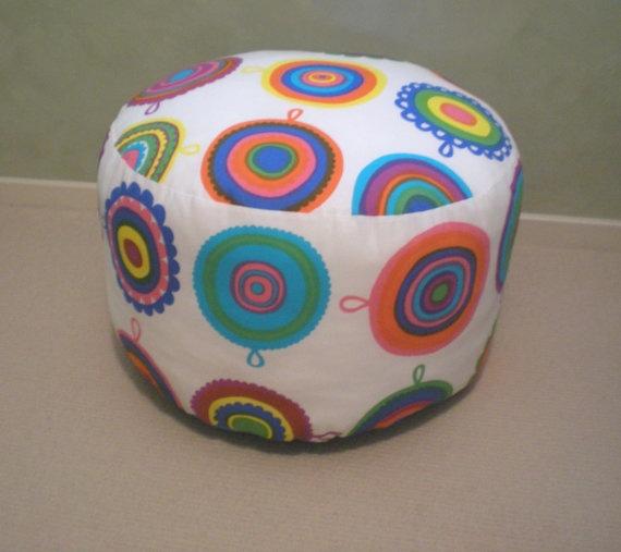 MARIMEKKO: 1 Large Modern Pouffe. $87.00, via Etsy.
