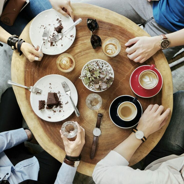 Coffee connects people