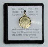 Gold Apparitions Water Pendant.