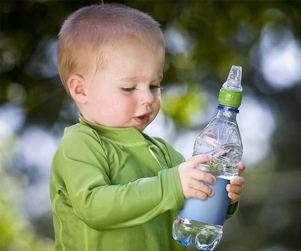 Stop carrying around multiple baby bottles while traveling. Simply turn your store bought water bottle into a baby bottle.