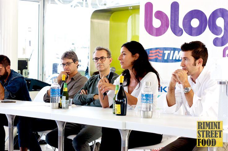 Patrizia Cianetti di #Ducati per Rimini Street Food a #Blogfest13