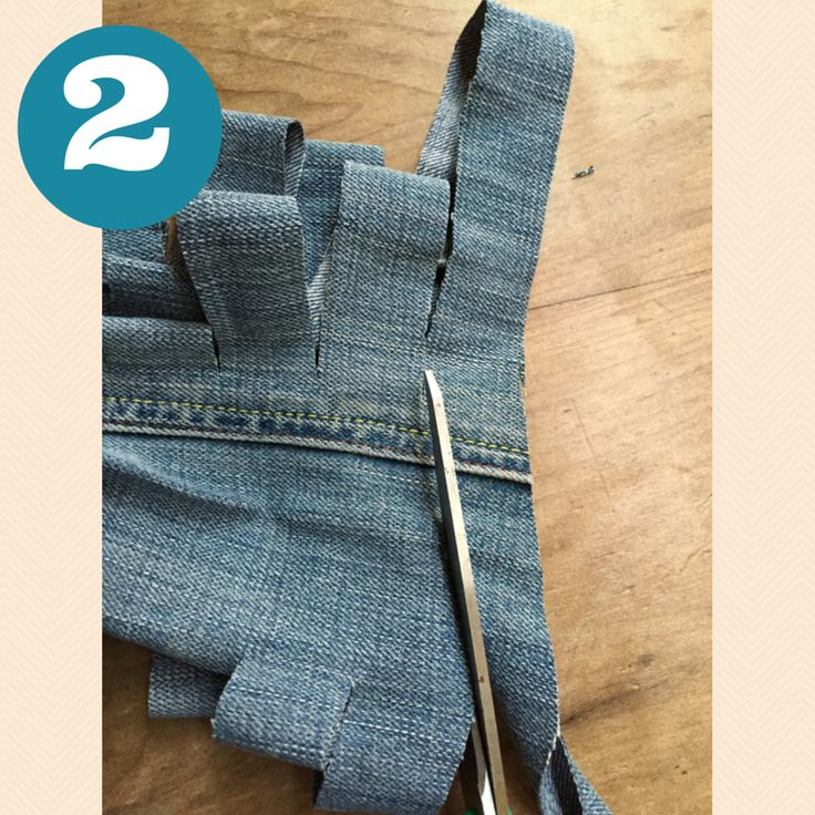 How to Make Jeans Yarn: A Free Tutorial | HanJan Crochet #crochettutorial #crochet