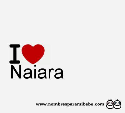Resultado de imagen para nombre naiara