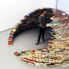 Miler Lagos' Awesome Book Igloo is Stacked High with Recycled Reading Materials Book Igloo by Miler Lagos – Inhabitat - Sustainable Design Innovation, Eco Architecture, Green Building