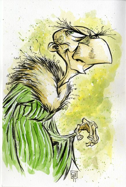The Vulture by *skottieyoung  Cartoons & Comics / Traditional Media / Comics / Pages©2011-2012 *skottieyoung