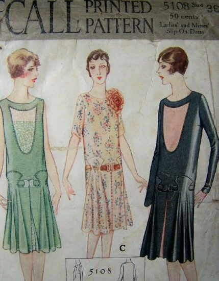 McCall 5108 - Vintage Sewing Patterns