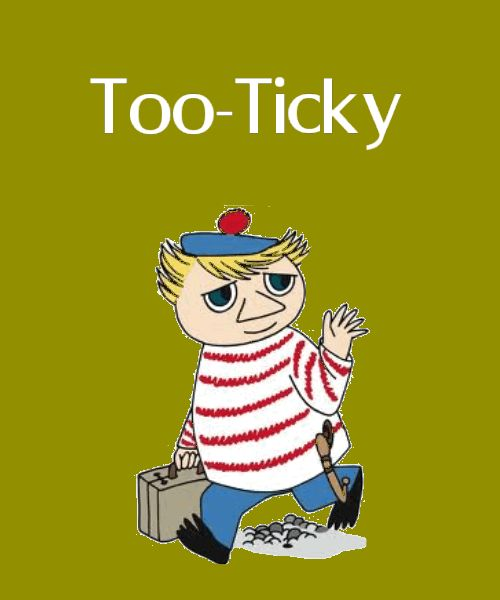 Moomin Mugs : Too-Ticky