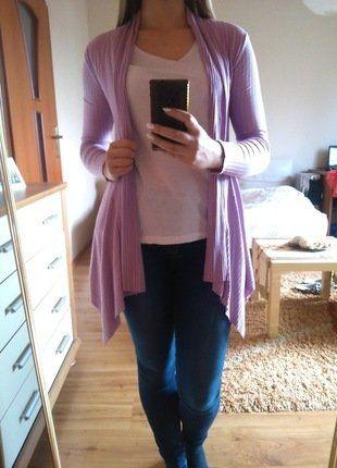 Kup mój przedmiot na #vintedpl http://www.vinted.pl/damska-odziez/kardigany/17766875-jasny-fioletowy-asymetryczny-cienki-kardigan