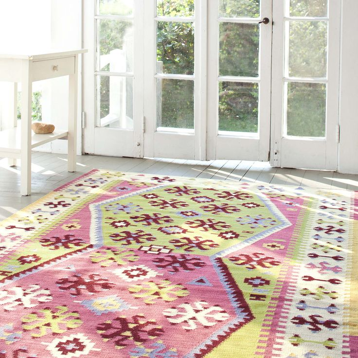Dash and Albert Bohemian Wool Woven Rug @Zinc_Door #zincdoor #rug