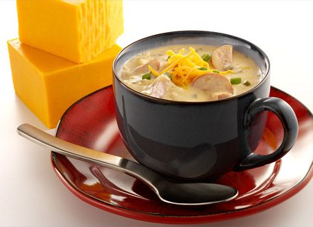 Thrifty Recipes: Easy Beer Cheddar Soup Recipe (with a Vegetarian ...