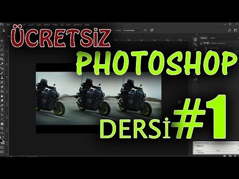 Ücretsiz Photoshop Dersleri: Ders 1 - Menüler ve Araçlar