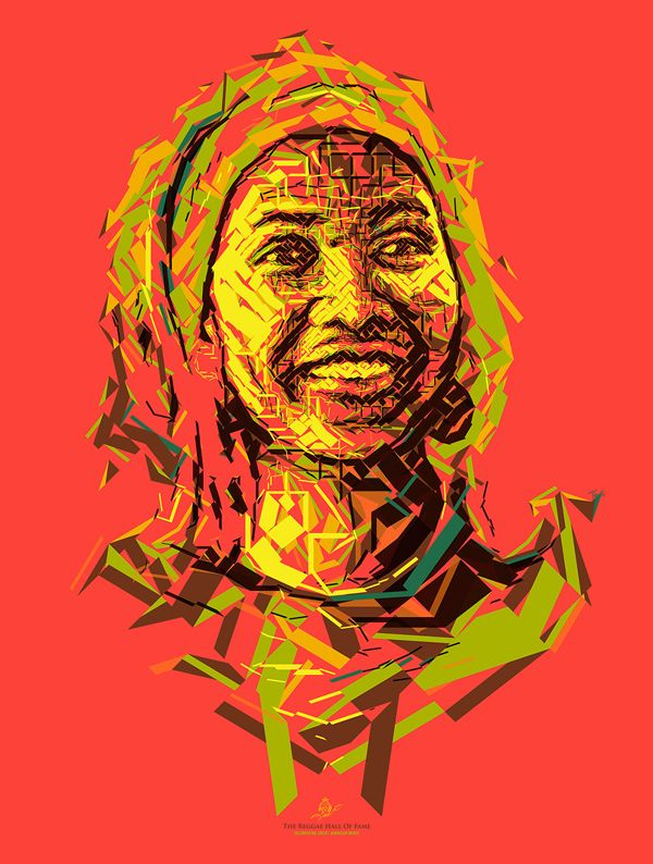 International Reggae Poster Contest, digital art by Charis Tsevis