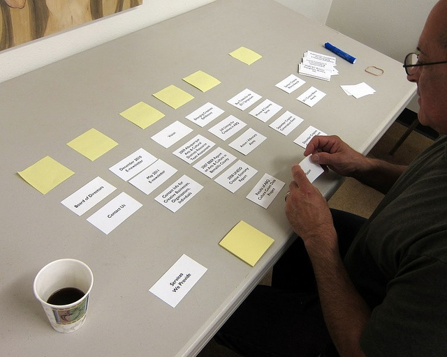 Card Sorting at Creative Albuquerque by chantal forster, via Flickr