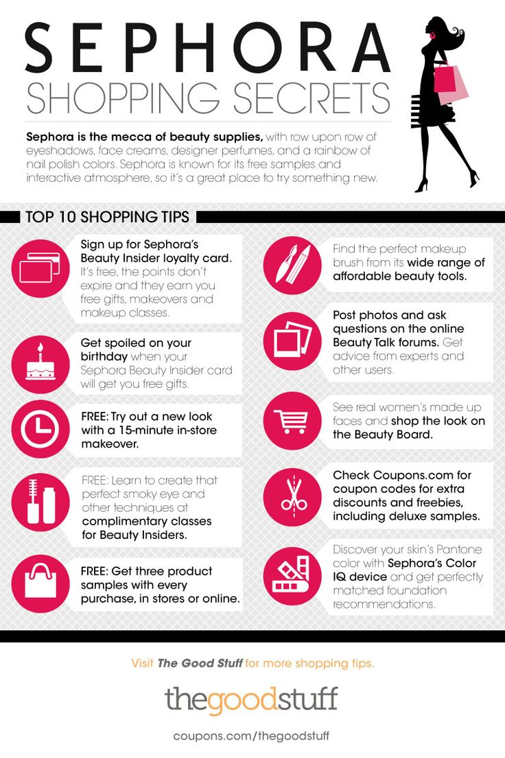 Everyone loves a great deal and these Sephora Shopping Secrets will help you find the best offers at Sephora.