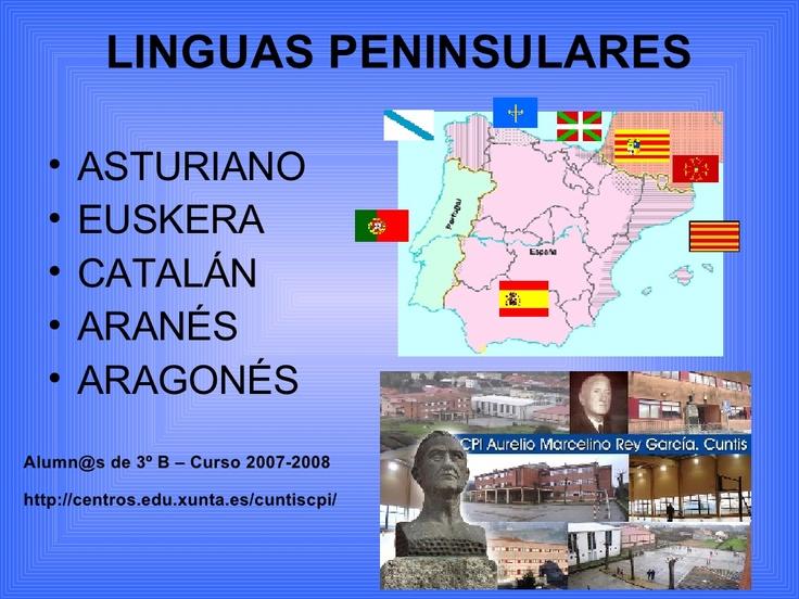 linguas-peninsulares (alumnado) by Román Landín via Slideshare