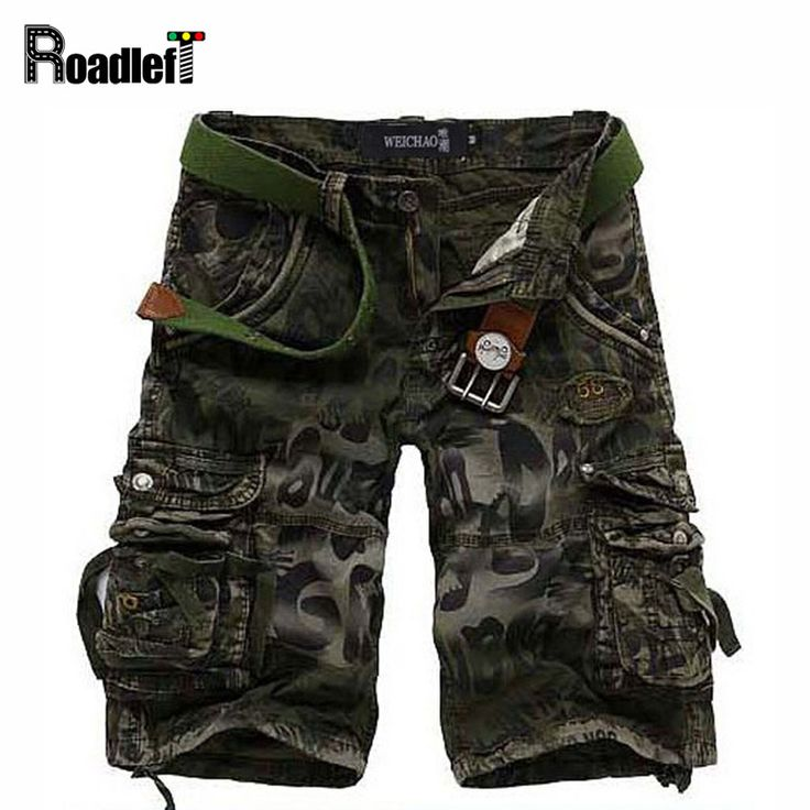 >> Click to Buy << Male summer fashion cotton canvas camo cargo denim shorts Men's camouflage military swat shorts Men casual workout shorts #Affiliate
