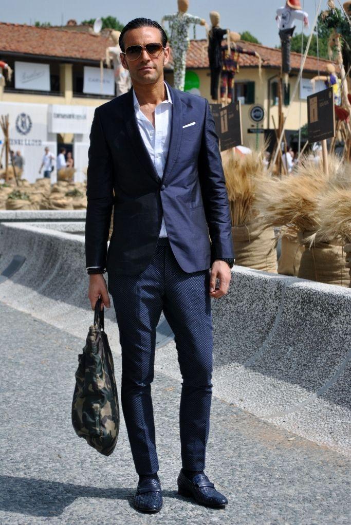 Italian Inspired Summer Style - He Spoke Style |Italian Mens Summer Street 2013