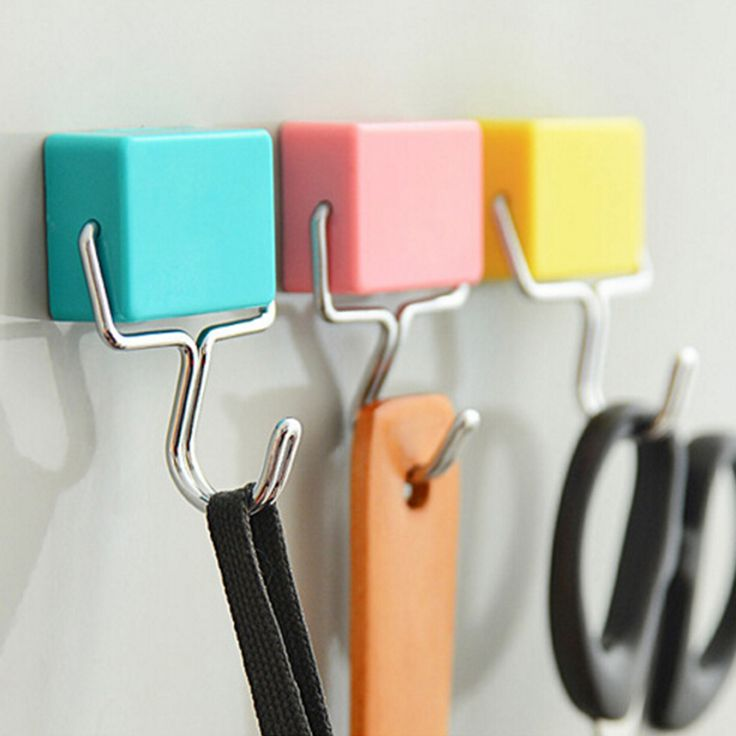 2016 Novel Designs Hot Super Suction Magnetic Hooks To Hang Free Microwave Refrigerator Trace Nail Random Color #Affiliate