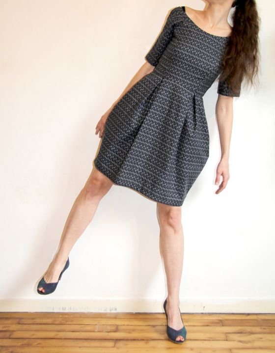 Elisalex dress by hand / Jolies bobines