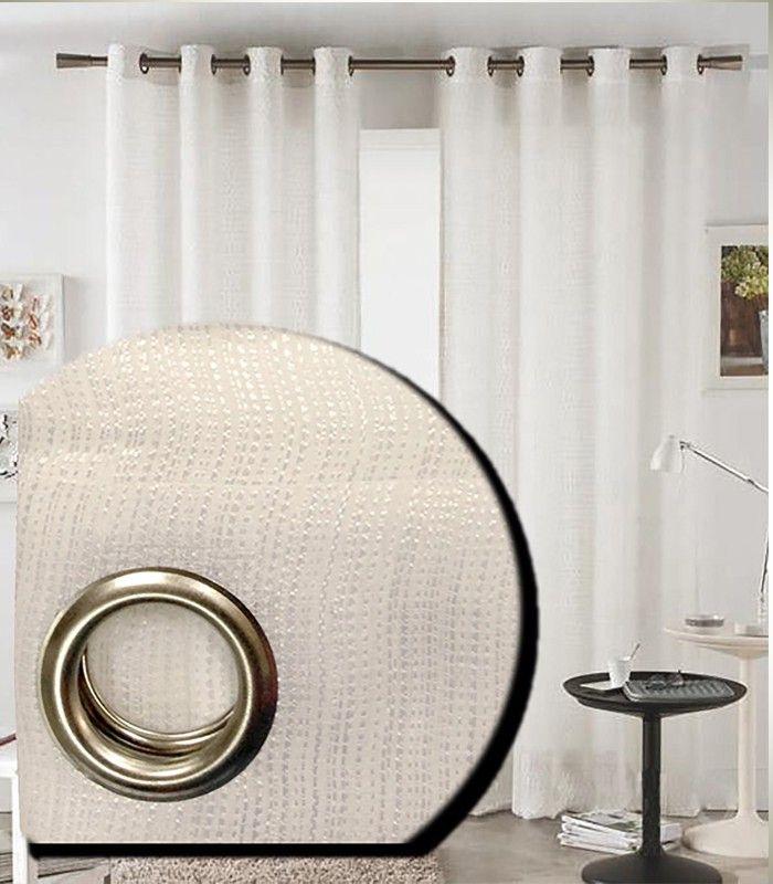 Visillos baratos, pero de calidad, elegantes y sencillos, por sus tonalidades claras el salón o el dormitorio parecerá más grande y ganará en luminosidad.  En ANRE Decoración