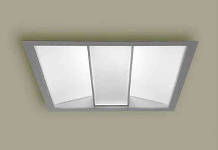 Recessed fluorescent lighting panels : Ideas about fluorescent light fixtures on covers mason jar