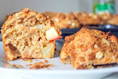 Healthy life: Apple Pie Muffins.