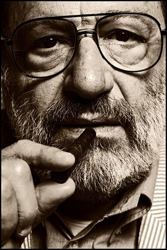 Umberto Eco by Cazafantasmas, via Flickr