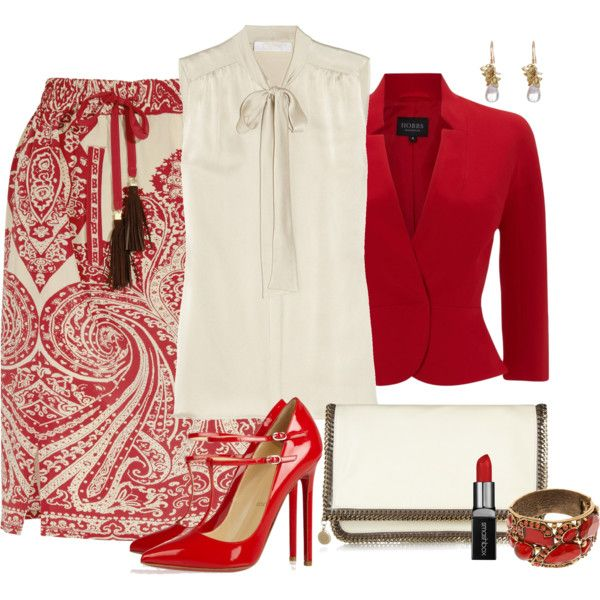 Red Louboutins, created by fantasy-closet on Polyvore