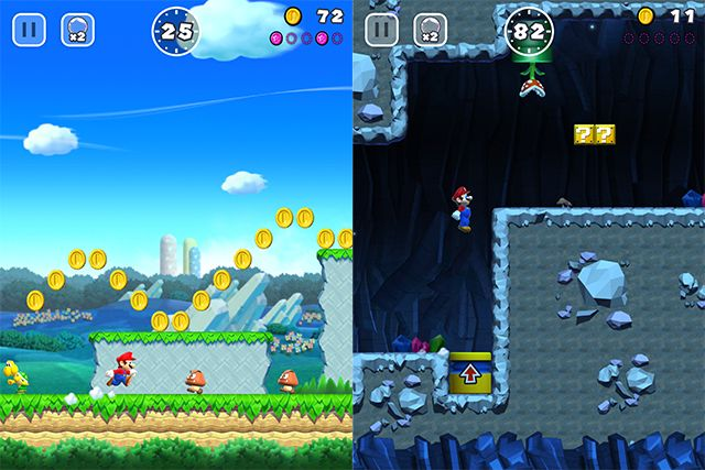 Nintendo launched Super Mario Run on iOS. The sport challenges customers to assist Mario rescue Peach and rebuild the Mushroom Kingdom after it is destroyed by Bowser.  In Tremendous Mario Run customers can play in two totally different gameplay modes: World Tour and Toad Rally. The World Tour mode provides single-participant levels whereas the Toad Rally mode permits customers to asynchronously race towards the ghosts of different gamers.  Within the World Tour mode customers can full…