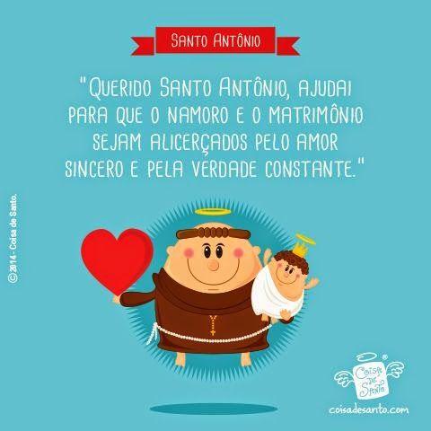 ABRACADARTE: Saboreando Palavras: Dia de Santo Antônio