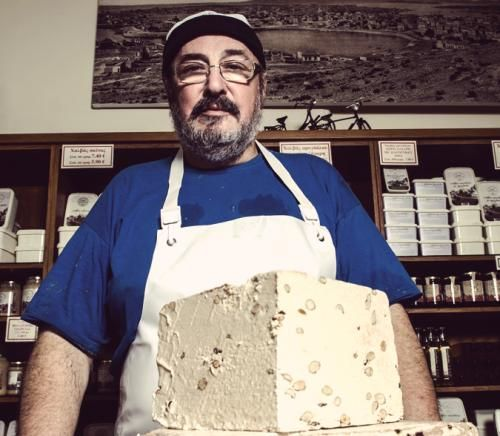 The history of the traditional halva workshop in Drapetsona began in 1924 when Kostas Mezardasoglou from Asia Minor came to Athens after the Asia Minor Catastrophe bringing with him the art of handmade halva. In 1986 the workshop passed into the hands of Nikos Gavrilis who – despite being a naval engineer - loved the art of making halva and continued the tradition he inherited with passion.  Nikos Gavrilis is a sweet, noble man, with a vision, values and passion.