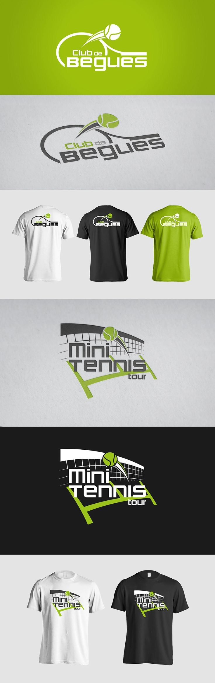 Begues tennis club on Behance
